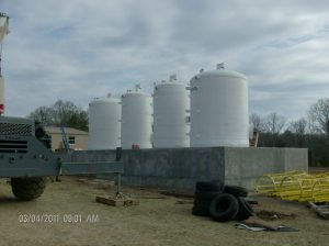 Bulk Chemical Storage Tanks