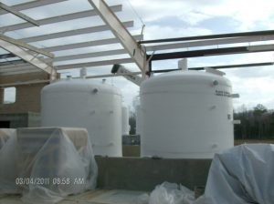 Interior Chemical Storage Tanks